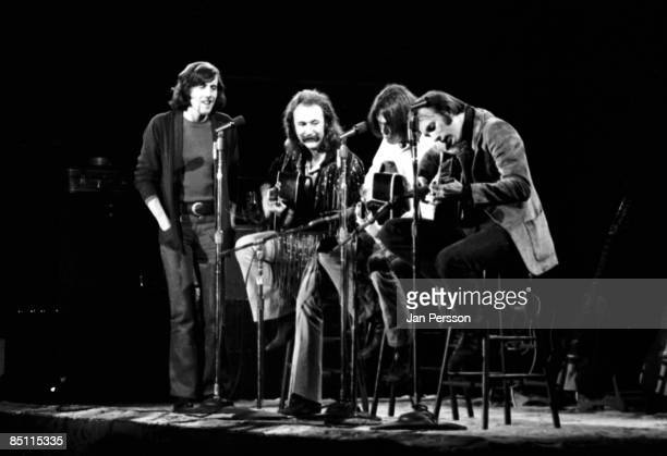 Photo of CROSBY STILLS NASH YOUNG and David CROSBY and Graham NASH and Neil YOUNG and Stephen STILLS Graham Nash David Crosby Neil Young Stephen...