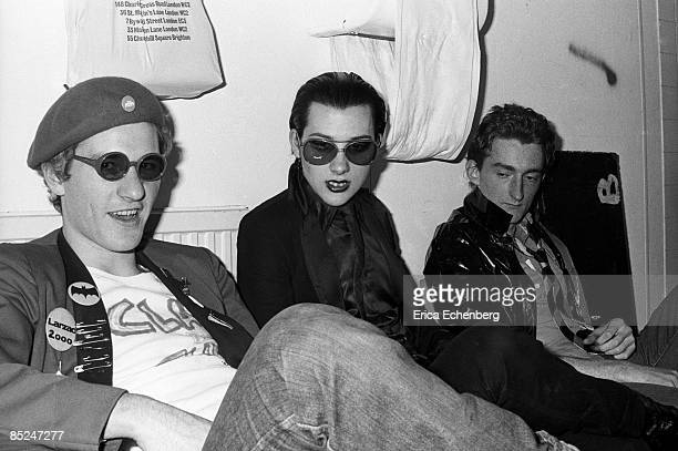 Photo of DAMNED Captain Sensible Dave Vanian Lu Edmonds