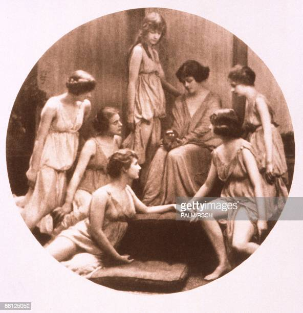 Photo of DANCE and BALLET and Isadora DUNCAN and ISADORA DUNCAN SCHOOL