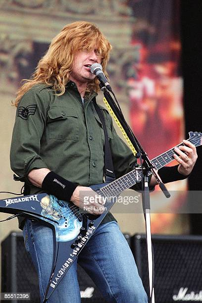 PARK Photo of Dave MUSTAINE and MEGADETH Dave Mustaine