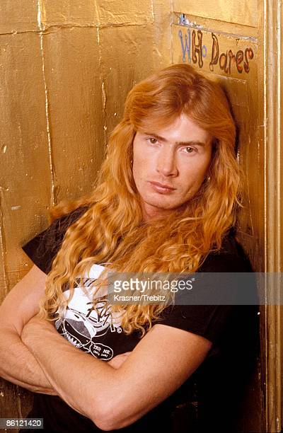 Photo of Dave MUSTAINE and MEGADETH Dave Mustaine