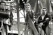 STADIUM Photo of David BOWIE David Bowie performing on stage dancers Glass Spider Tour