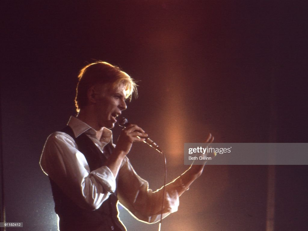 NASHVILLE Photo of David BOWIE David Bowie performing on stage