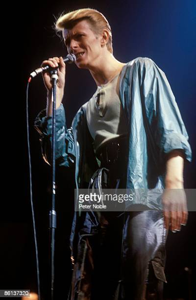 Photo of David BOWIE performing live onstage on Low/Heroes 1978 World Tour