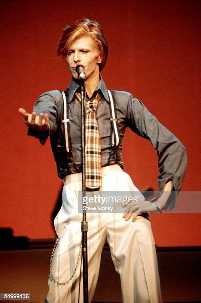 HALL Photo of David BOWIE performing live onstage on Philly Dogs Tour