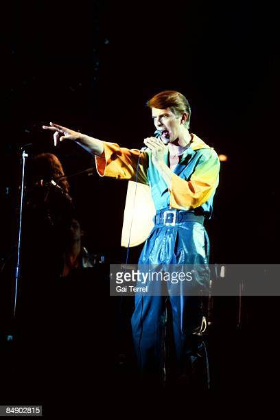 Photo of David BOWIE performing live onstage on the Low/Heroes 1978 World Tour