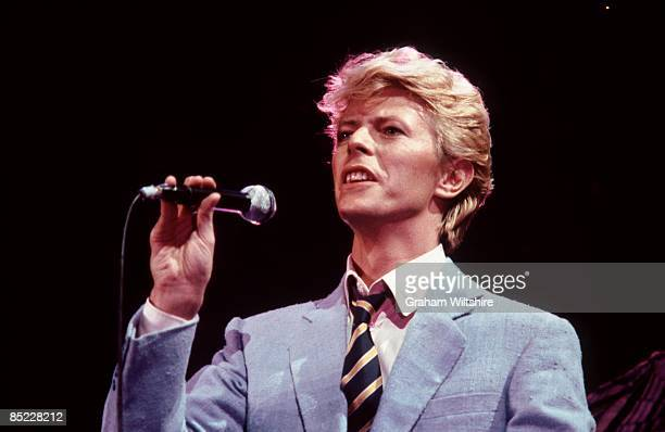 BIRMINGHAM Photo of David BOWIE performing live onstage on the Serious Moonlight tour
