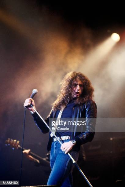 THEATRE Photo of David COVERDALE and WHITESNAKE David Coverdale performing live onstage