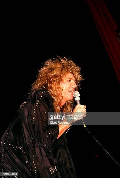 USA Photo of David COVERDALE and WHITESNAKE David Coverdale performing live onstage