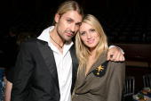 HALL Photo of David GARRETT and Melrose BICKERSTAFF David Garrett and Melrose Bickerstaff at the Classical Brit Awards