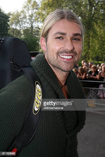 HALL Photo of David GARRETT David Garrett arriving at the Classical Brit Awards full length