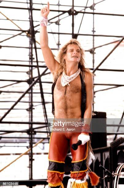Photo of David Lee ROTH and VAN HALEN
