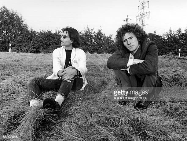 Photo of David PEEL and Tim BUCKLEY with David Peel