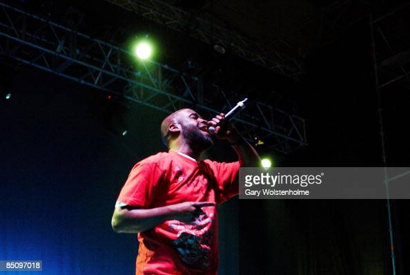 SOUND Photo of DE LA SOUL Posdnous performing on stage