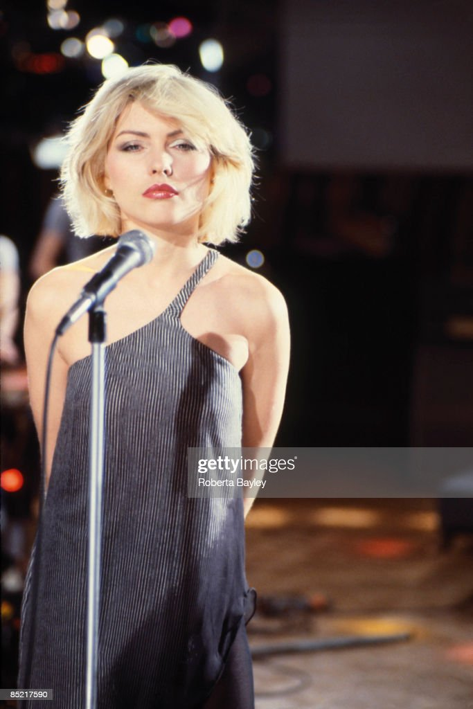 ... Debbie Harry on the set of the 'Heart of Glass' video shoot Show ...