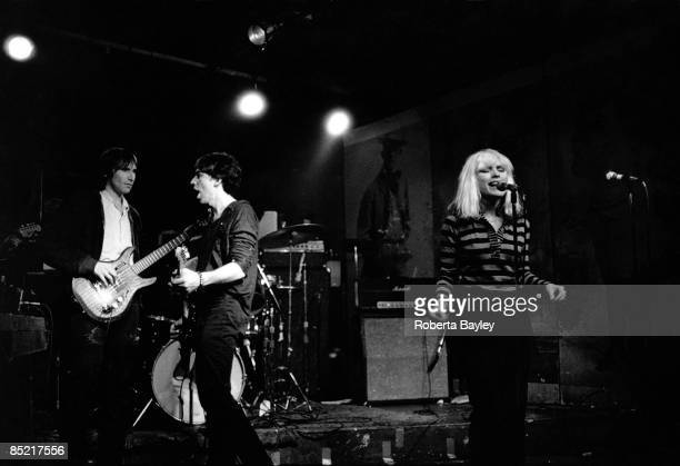 S Photo of Debbie HARRY and Chris STEIN and BLONDIE LR Chris Stein Debbie Harry