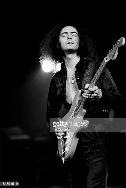 USA Photo of DEEP PURPLE and Ritchie BLACKMORE Performing live on stage with Deep Purple playing Fender Stratocaster guitar on US tour
