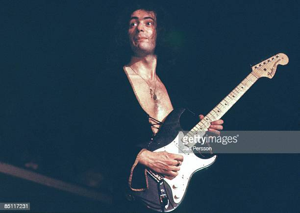 Photo of DEEP PURPLE and Ritchie BLACKMORE Ritchie Blackmore performing live onstage with Deep Purple
