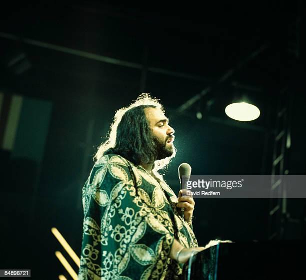 Photo of Demis ROUSSOS Demis Roussos performing on stage