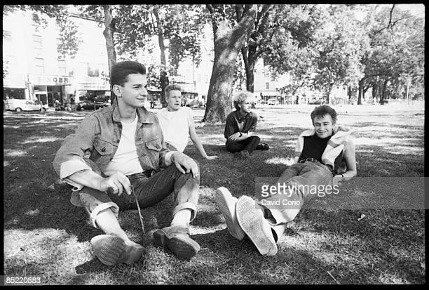 Photo of DEPECHE MODE Depeche Mode at Shepherd's Bush LondonUK 2 september 1982