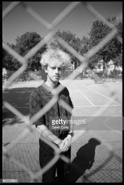 Photo of DEPECHE MODE Martin Gore of Depeche Mode at Shepherd's Bush London UK September 1982