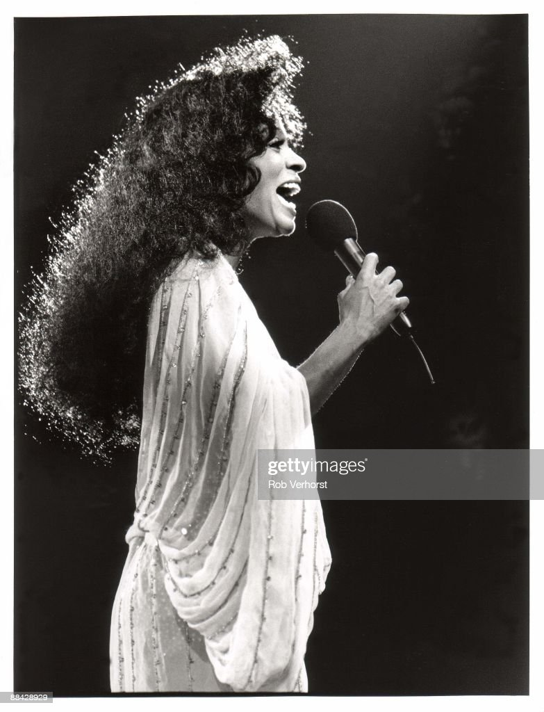 Photo of Diana ROSS; Diana Ross Ahoy' Foto Rob Verhorst