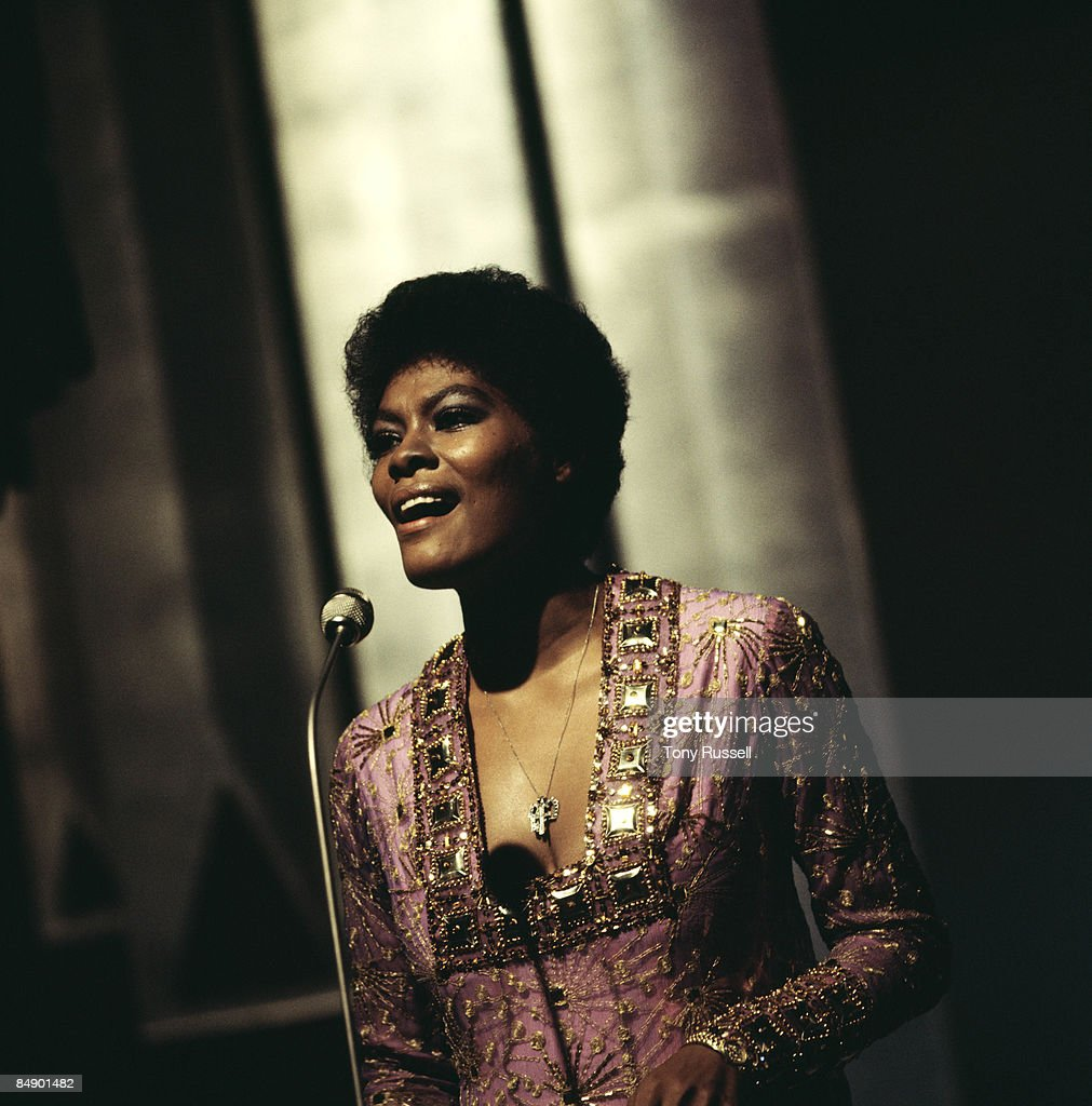Photo of Dionne WARWICK; Dionne Warwick performing on tv show