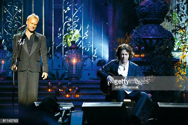 AWARDS Photo of Dominic MILLER and STING with Dominic Miller