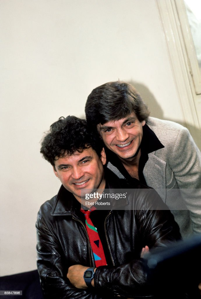 Photo of Don EVERLY and Phil EVERLY and EVERLY BROTHERS; L-R: Don Everly and Phil Everly - posed