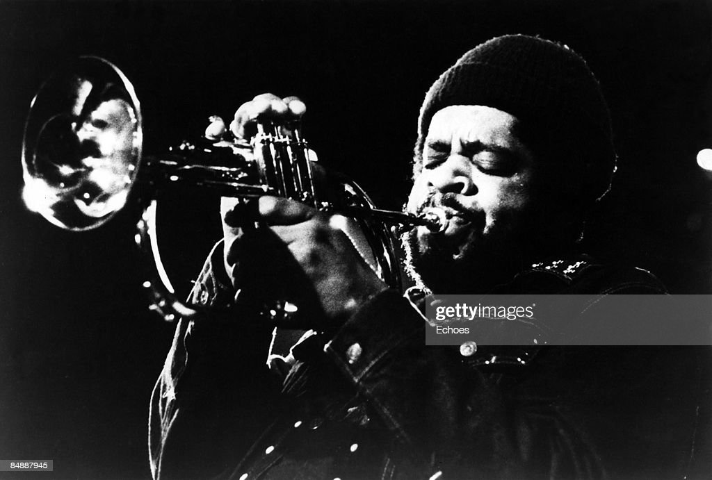 Photo of Donald BYRD; Donald Byrd performing on stage
