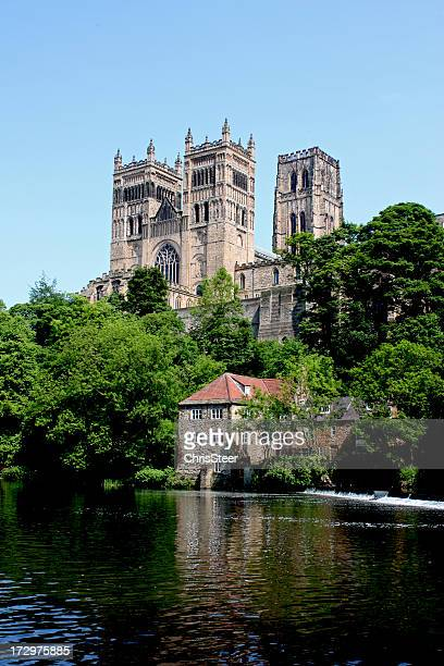 Photo of Durham Cathedral taken from across the river