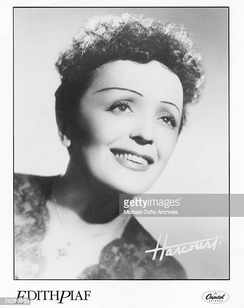 Photo of Edith Piaf Photo by Michael Ochs Archives/Getty Images