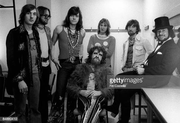 POPS Photo of ELECTRIC LIGHT ORCHESTRA Richard Tandy Michael d'Albuquerque Bev Bevan Jeff Lynne Wilfred Gibson Colin Walker Mike Edwards