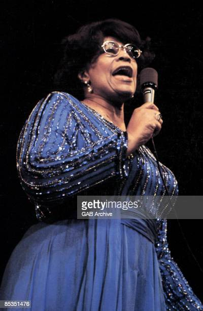 Photo of Ella FITZGERALD performing live on stage