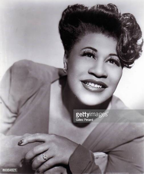 Photo of Ella FITZGERALD Posed portrait of Ella Fitzgerald