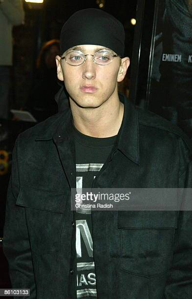Photo of EMINEM At Premiere of the film '8 Mile'