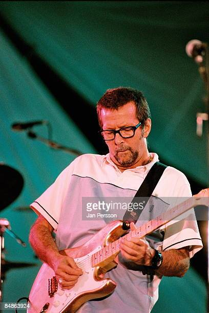 Photo of Eric CLAPTON performing live onstage at Legends concert