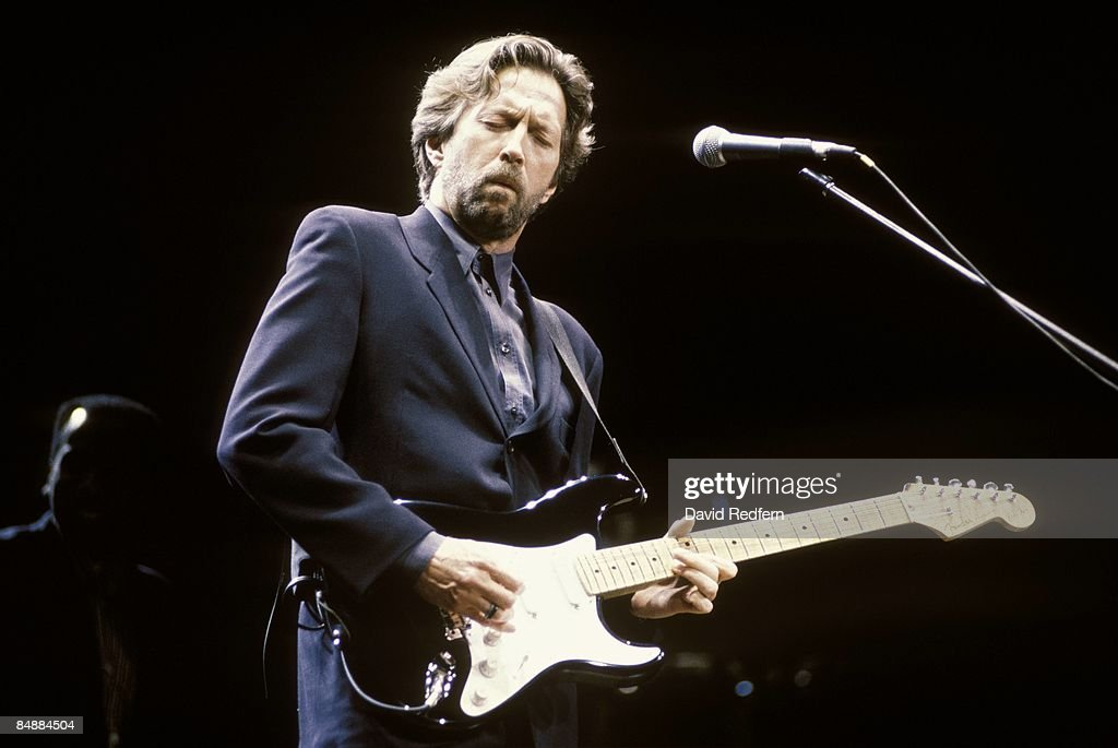 Photo of Eric CLAPTON; performing live onstage