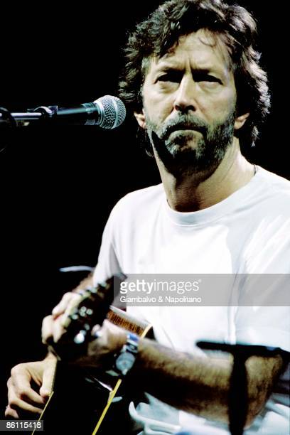 Photo of Eric CLAPTON performing live onstage