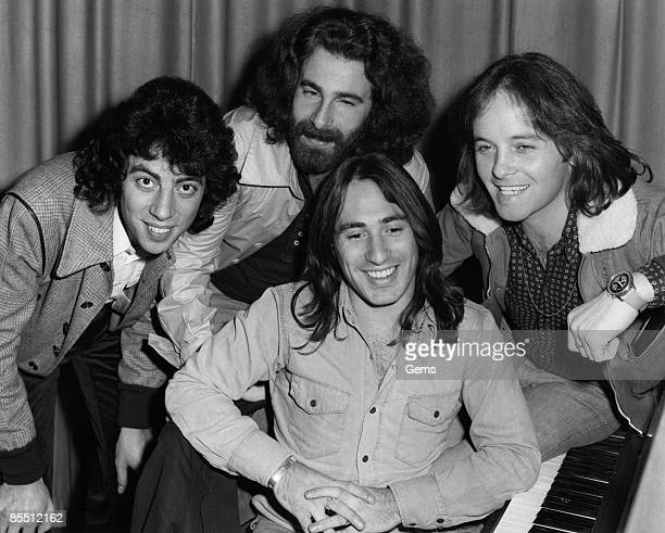 Photo of Eric STEWART and 10CC and Kevin GODLEY and Lol CREME LR Graham Gouldman Kevin Godley Lol Creme Eric Stewart