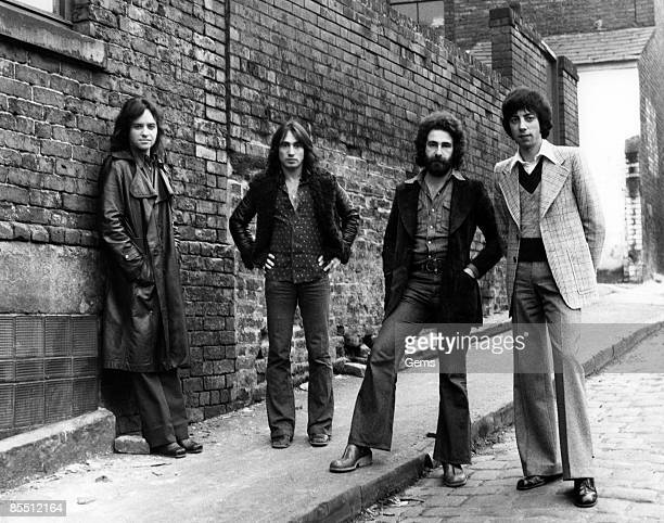 Photo of Eric STEWART and 10CC and Lol CREME and Kevin GODLEY LR Eric Stewart Lol Creme Kevin Godley Graham Gouldman