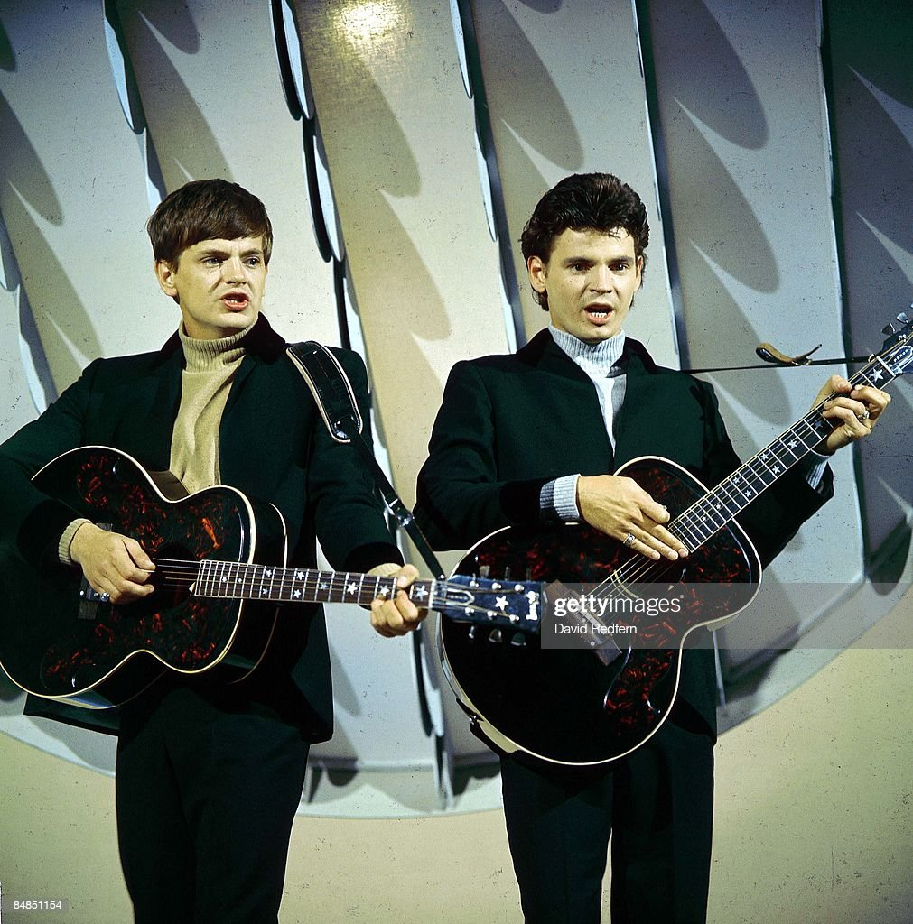 Phil Everly and Don Everly - performing on tv show