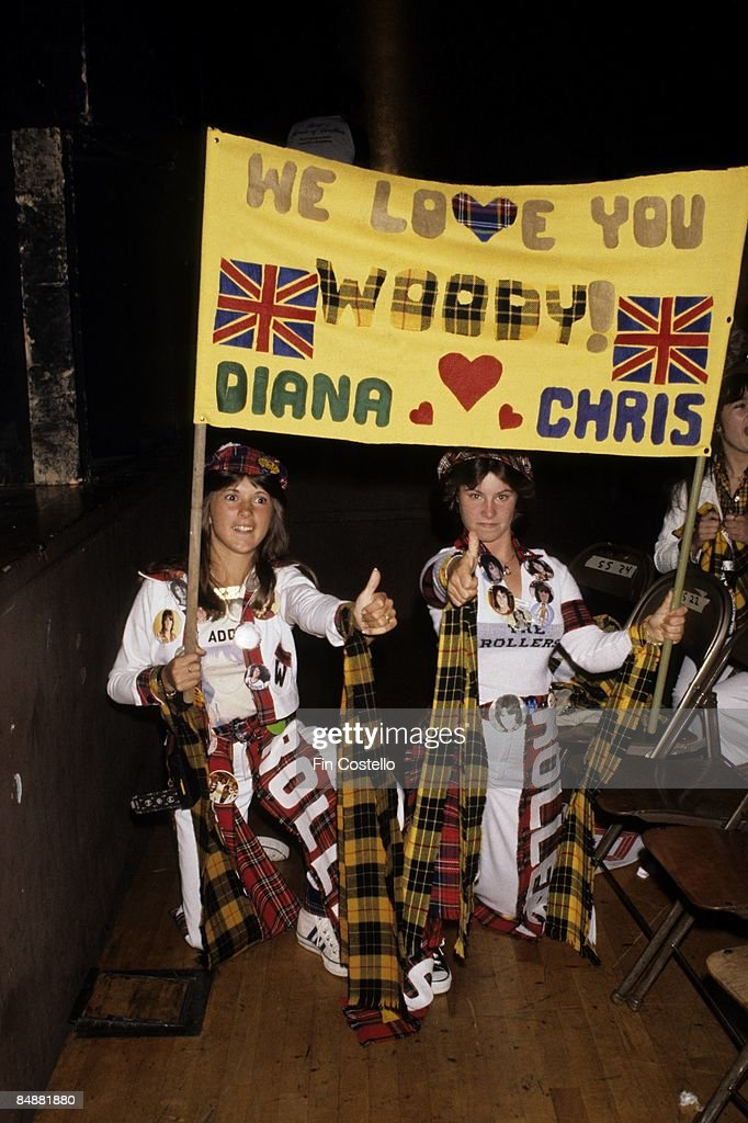 Photo of FANS and POP and POP FANS and BAY CITY ROLLERS;