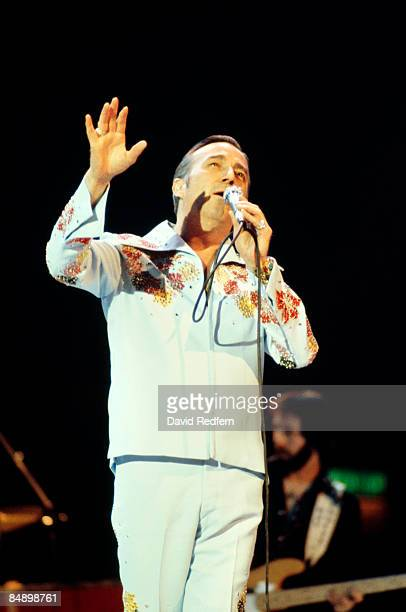 WEMBLEY Photo of Faron YOUNG Faron Young performing on stage