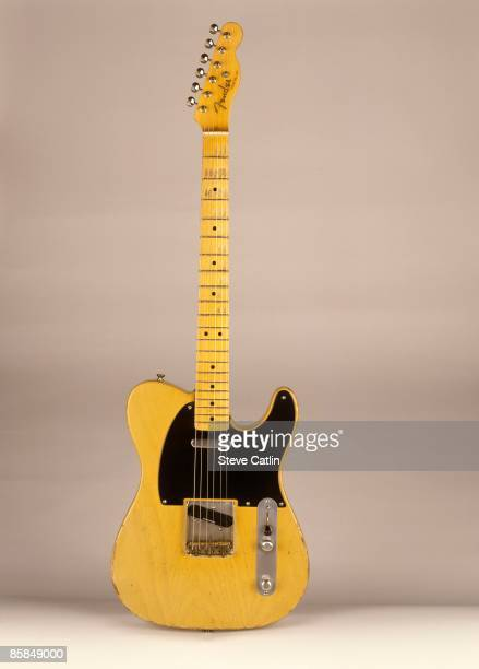 UNSPECIFIED CIRCA 2000 Photo of FENDER GUITARS and GUITAR and FENDER TELECASTER '52 Relic [167] still life studio
