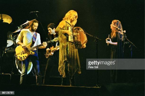 John McVie Lindsey Buckingham Christine McVie Stevie Nicks performing live onstage