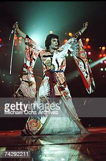 Photo of Freddie Mercury Photo by Michael Ochs Archives/Getty Images