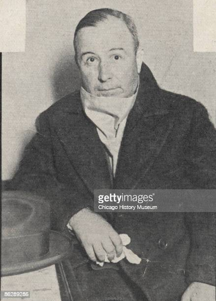 Photo of gangster John Torrio Chicago 1925 Torrio established a bootlegger's empire that was eventually controlled by Al Capone
