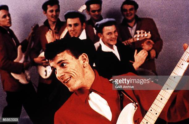 Photo of Gene VINCENT With His Blue Caps