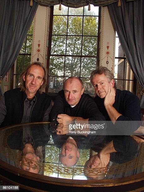 Photo of GENESIS Mike Rutherford Phil Collins Tony Banks